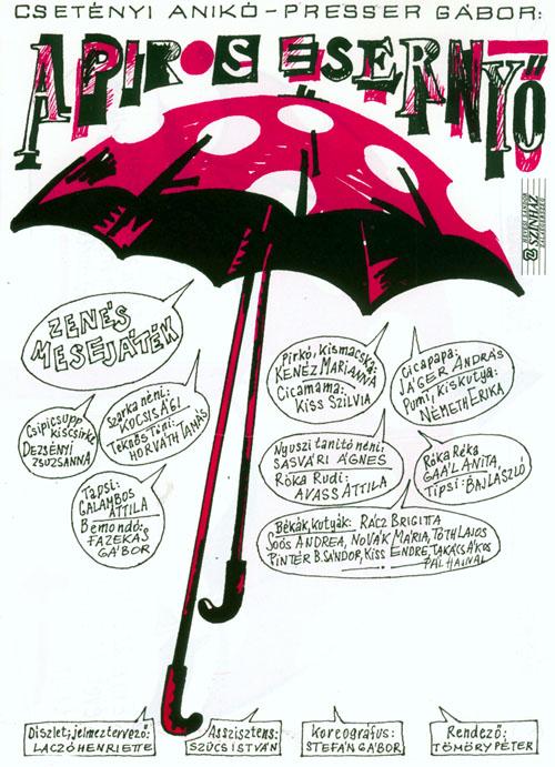 Az 1989-es zalaegerszegi előadás plakátja